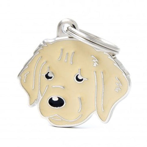 Golden Retriever Shaped Necklace