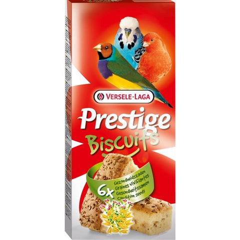 Versele Laga Prestige Biscuits For Ornamental Birds With Grains 6*70g