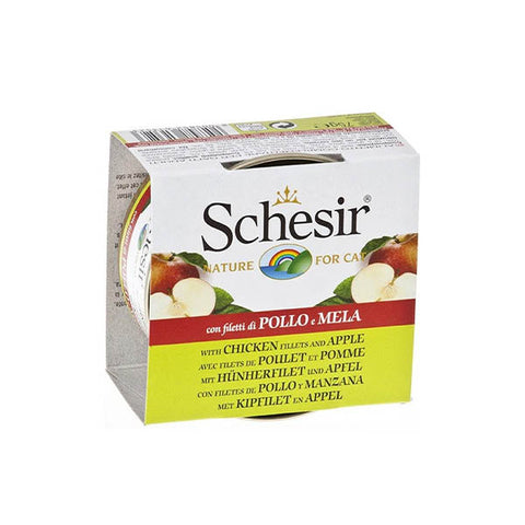 Schesir canned chicken strips with apples 75 g