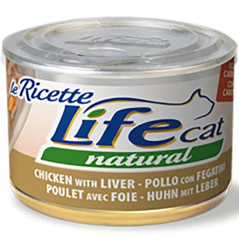 ​Life Cat Natural Wet Food Chicken Liver with Carrots 150g
