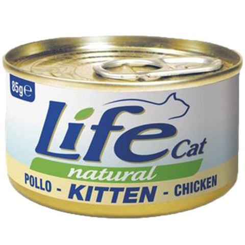 ​Life Cat Natural Wet Food for Kittens Chicken 85g