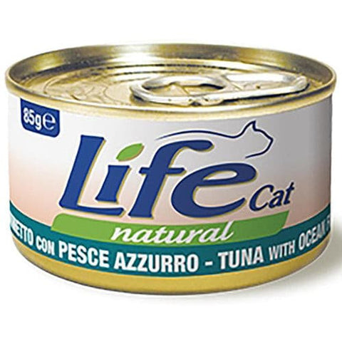 Life Cat Natural Wet Food Tuna with Ocean Fish 85g