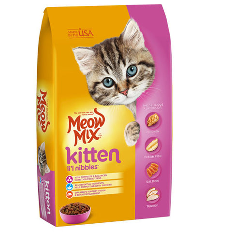 Meow Mix Kitten Dry Food