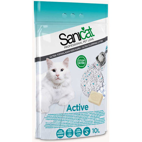Sanicat Bentonite Cats Smell Marseille Soap for cats 10L