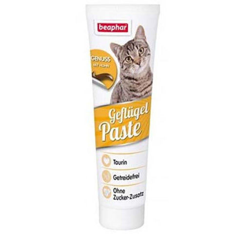 Beaphar Poultry Paste with Chicken for Cats 100g