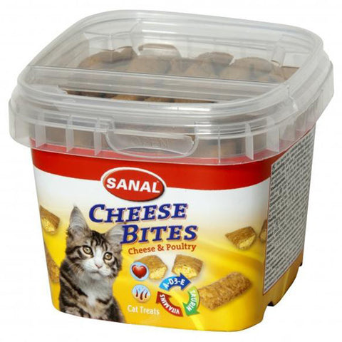 Sanal Cheese bites cat treats 75g