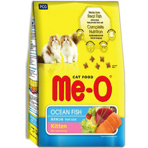 Me-O Kitten Dry Food, Ocean Fish Flavor