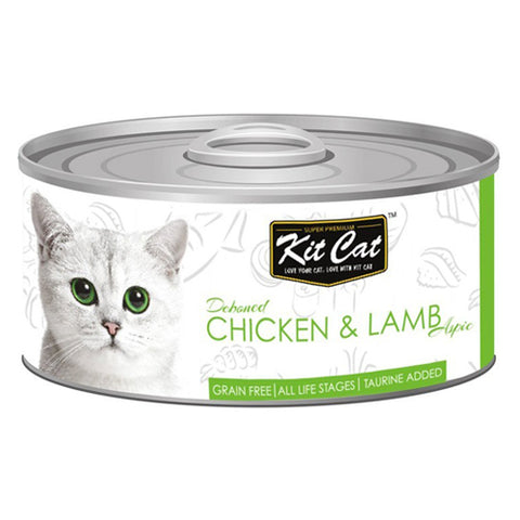 Kit Cat Canned Chicken and Meat 80 g