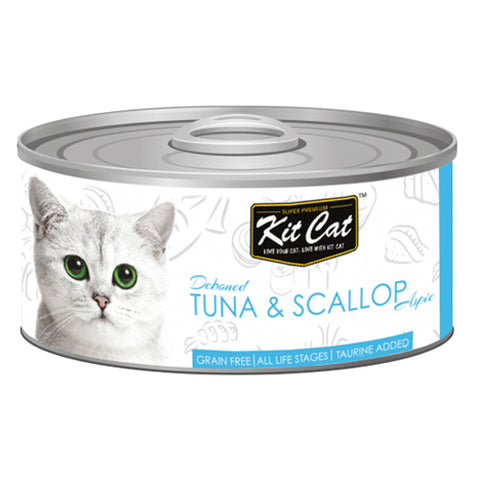 Kit Cat Canned Tuna and Oyster 80 g