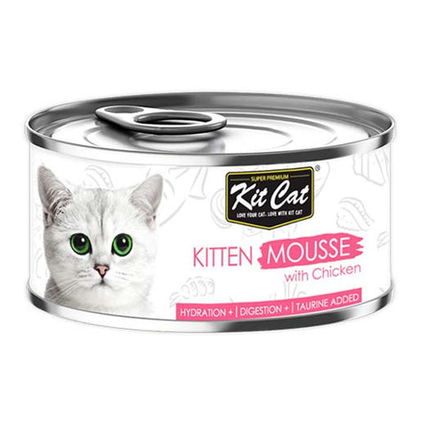 Kit Cat mashed food for kittens with chicken 80g