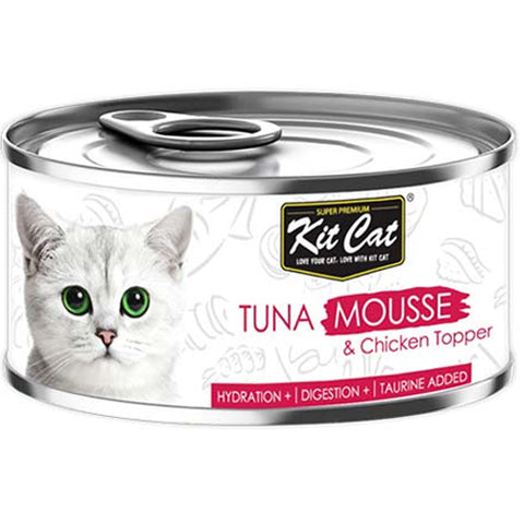 Kit Cat mashed tuna with chicken 80g