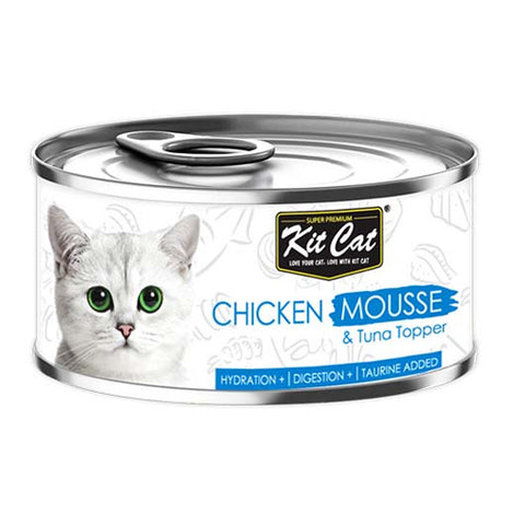 Kit Cat mashed chicken with tuna 80 g