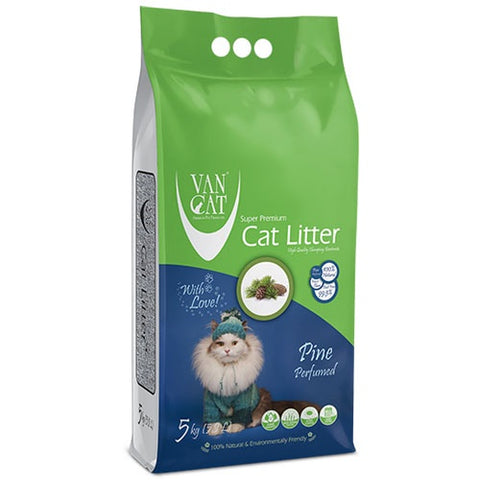 VanCat Super Premium Cat Litter with the Scent of pine