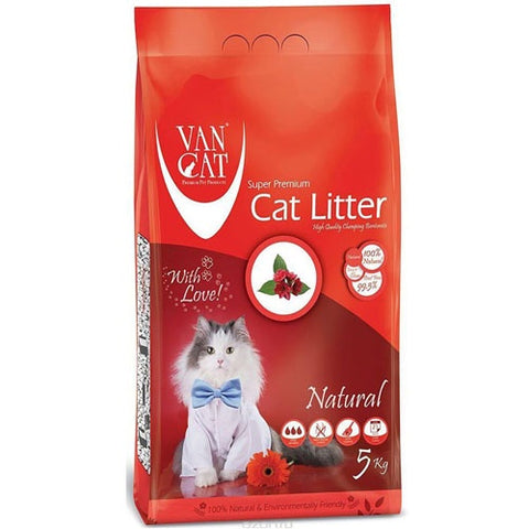 VanCat Super Premium Cat Litter Unscented