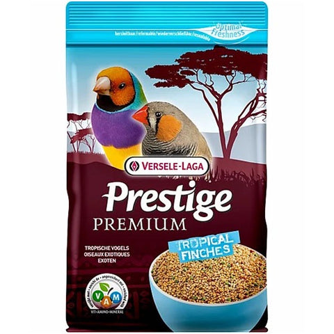 Versele Laga Prestige Premium Complete Food For Tropical Zebra And Goldfinch Birds 800g