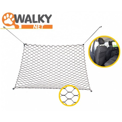 Walky barrier and dog separator placed in the car while traveling 130 * 70 cm