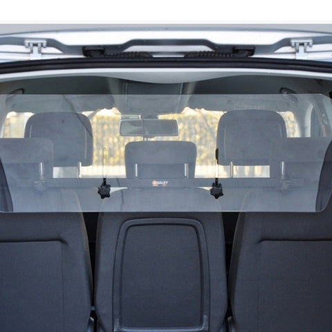 Clear plastic partition is safe inside the car, small size 110 * 34 cm