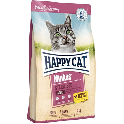 Happy Cat Dry Food for Sterilised Cats