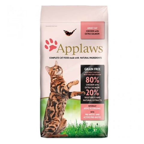Applaws Adult Cat Chicken with Extra Salmon