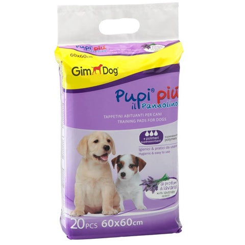 GimDog Pampers Lavender to get dogs used to urinating 20 tablets 60 * 60 cm