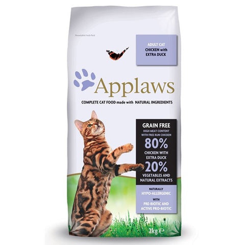 Applaws Adult Cat Dry Food Chicken with Extra Duck