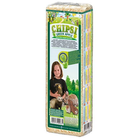 Chipsi ​Green Apple Bedding For rabbits 1Kg