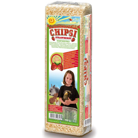 Chipsi Strawberry Bedding For rabbits 1Kg