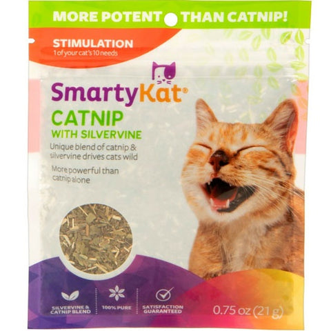 SmartyKat Silvervine & Catnip 21g for cats