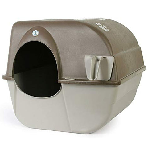 Omega Paw Self-Cleaning Cat Litter Box