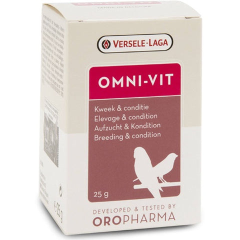 Versele Laga Oropharma Vitamins To Support Birds Health 25g