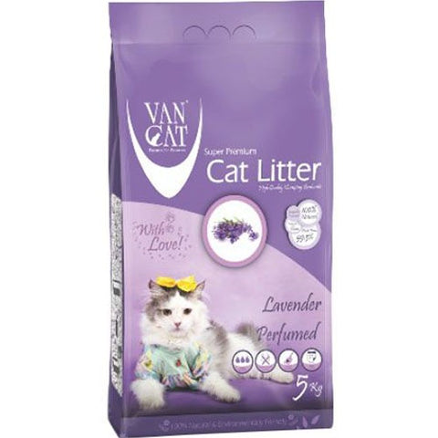 VanCat Super Premium Cat Litter with the Scent of Lavender