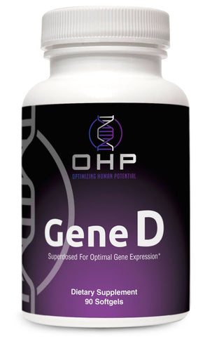 OHP Gene D Epigenetic Vitamin D Superdose | 5000 IU 90 count