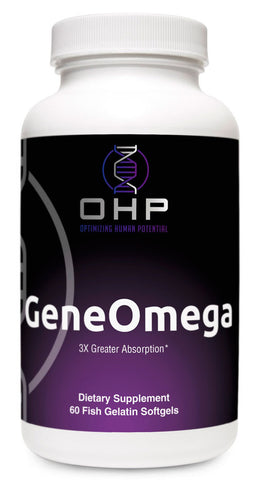 OHP GeneOmega 3X Greater Absorption | 60 count
