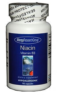 Allergy Research Niacin B3 | 250mg 90 count