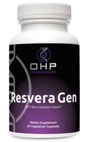 OHP ResveraGen Epigenetic Anti-Aging Supplement | 60 count
