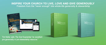 Complete Generosity & Stewardship Toolkit - Digital Edition. Everything You Need to Lead the Generosity Journey.