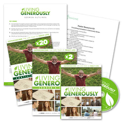 Living Generously Church-Wide Sermon Series Package - Print
