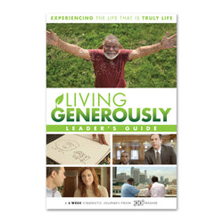 Living Generously Series - Leader Guide - Print