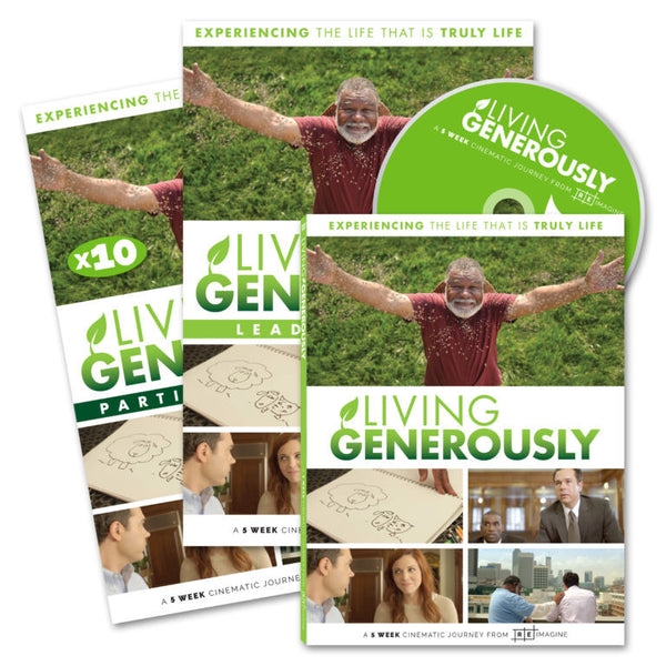 Living Generously Series - Small Group Kit - Print