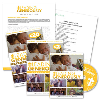 Leading Generously Church-Wide Sermon Series Package - Print