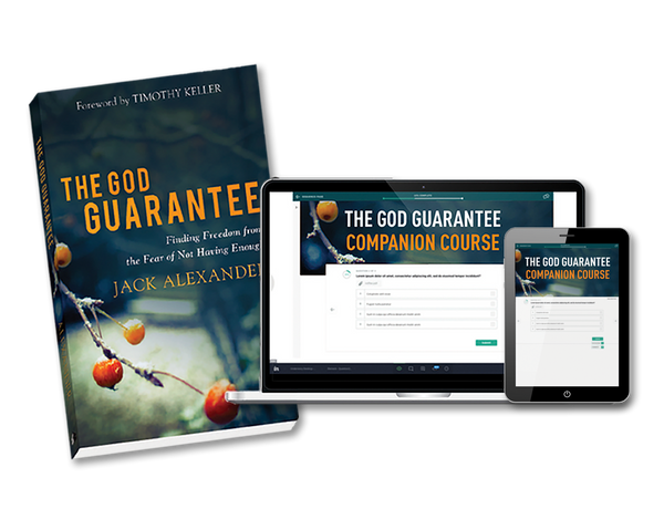 FREE Gift - The God Guarantee e-Book & Course - WHILE SUPPLIES LAST!
