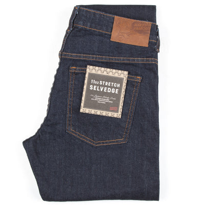 Naked & Famous Denim Women's 11 oz. Stretch Selvedge - Boyfriend - M.W. Reynolds