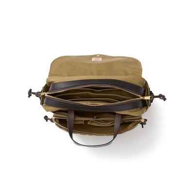 Rugged Twill Padded Computer Bag Briefcase - M.W. Reynolds