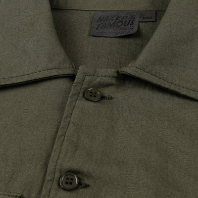 Work Shirt - Green Rinsed Oxford
