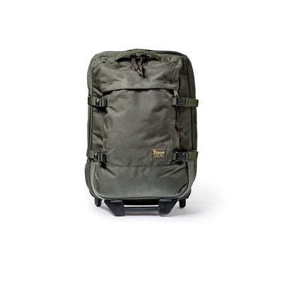 Filson Ballistic Nylon Dryden Rolling 2 Wheel Carry On Bag - M.W. Reynolds