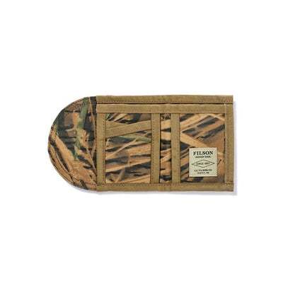 Filson Tin Cloth Smokejumper Wallet - Mossy Oak - M.W. Reynolds
