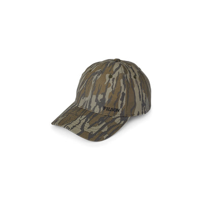 Filson Camo Tin Cloth Low Profile Cap - Mossy Oak Bottomland - M.W. Reynolds