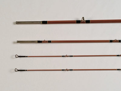 Granger - Wright & McGill - Gary Lacey Registered 8040  8' #5 Bamboo Rod - M.W. Reynolds