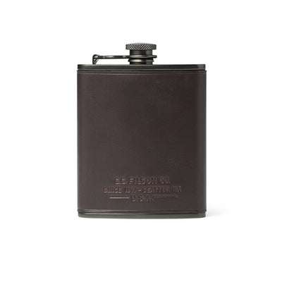 Trusty Leather Flask