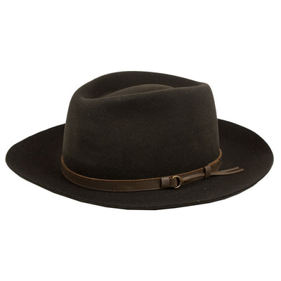 Iron & Resin Tin Pan Hat - M.W. Reynolds